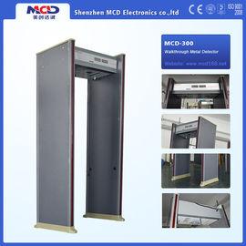 China Waterproof Door Frame Metal Detector 6 Zones Knife Dun detection machine distributor