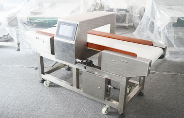 China Digital Needle Frozen food metal detector with conveyor belt 45 - 80cm width factory