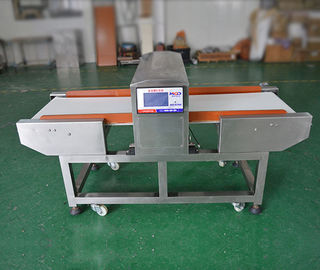 China High Sensitive Freezing Food Industry Metal Detectors With Conveyor Belt 40m/min factory