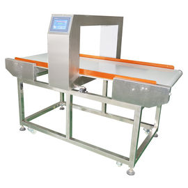 China Touch Screen Drinks Vegetables Conveyor Food Metal Detector  Ajustable Sensibility factory