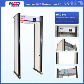 China LCD Display Walk Through Metal Detector Accurate for Security Check factory