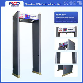 China High Sensitivity Door Frame Metal Detector for Airport Security Check factory