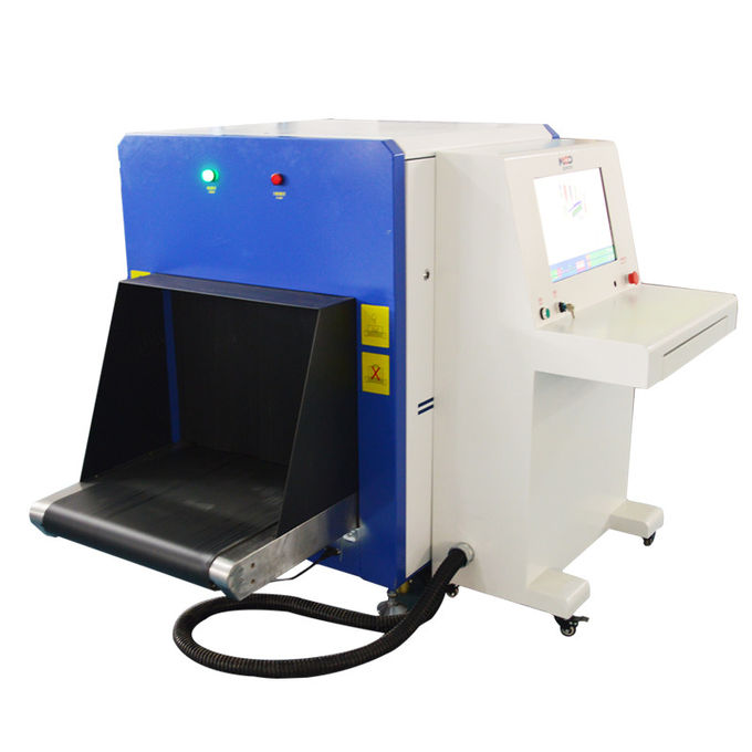 0.22 M / S Airport Baggage Scanner Metal Detector Machine With 650 X 500mm Tunnel Size 0
