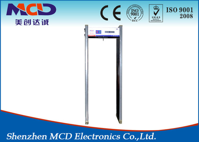 High Sensitivity Intelligent Walk through Metal Detector Gates MCD-600 0
