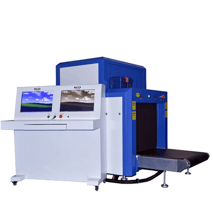 Conveyor Airport X Ray Scanner Machine , X Ray Security Equipment Low Noise 0