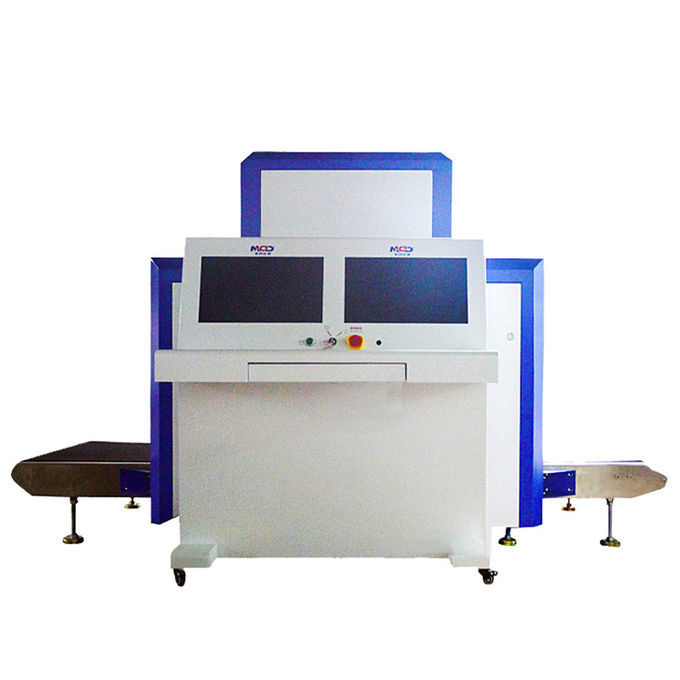Conveyor Airport X Ray Scanner Machine , X Ray Security Equipment Low Noise 1