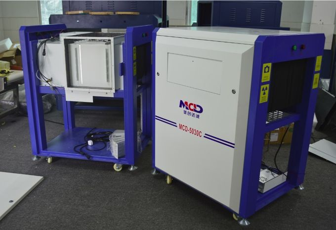 170kg Load Airport Baggage Scanners MCD-5030C 500W*300Hmm Tunnel Size