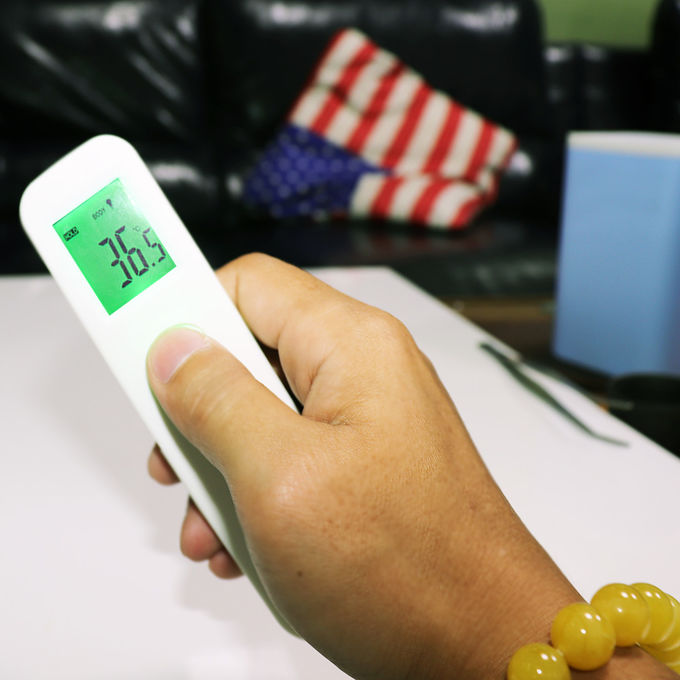 Lcd Digital Infrared Thermometer Body Temperature Test Mcd-001 Automatic Range Selection